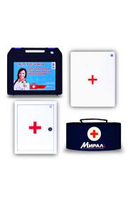 Аптечка для оказания первой помощи  работникам (металлический шкаф)