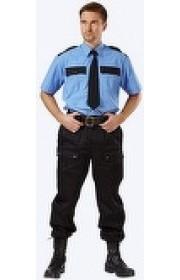 Рубашка охранника длиный рукав
