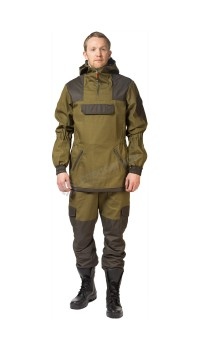 "Костюм Костюм ""Горка "" летний: куртка,брюки, ( палатка 270 г/м2) хаки,100% хлопок,"