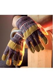 Перчатки ХВАТКА комбинированные, тонкие спилковые