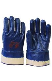 Перчатки х/б Нитрос с полным нитриловым покрытием, трикотажные манжеты